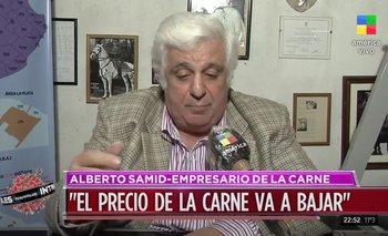 Alberto Samid es reconocido por ser empresario cárnico y peronista