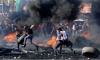 La escalada de violencia entre Israel y poblaciones palestinas lleva casi diez días