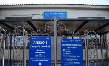 Vacunatorio del Hospital Pasteur cerrado este martes
