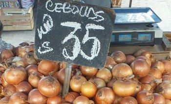 Sube el precio de la cebolla.