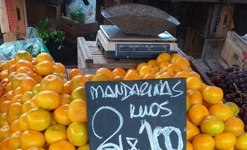 Las frutas fueron de los pocos alimentos que bajaron de precio en mayo.