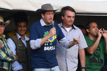 Ricardo Salles, ministro de Medio Ambiente