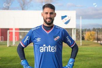 Martín Rodríguez será el golero suplente de Nacional