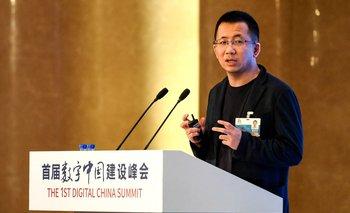CEO of Bytedance Zhang Yiming