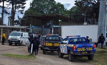 Cerca de 500 policías fueron desplegados para controlar la situación en la prisión