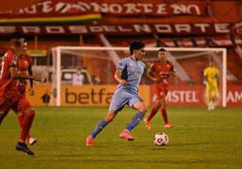 Franco Pizzichillo jugó un partidazo