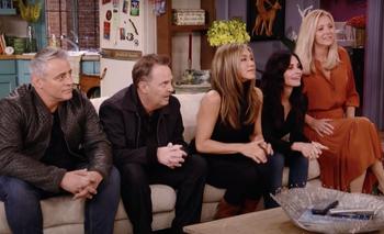 Este reencuentro es el momento que muchos fanáticos de Friends estaban esperando.