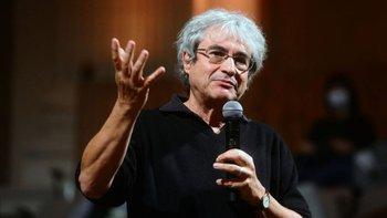 Carlo Rovelli en octubre de 2020 durante la presentación de su libro Helgoland en la Universidad de Bolonia.