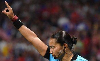Edina Alves, la brasileña que entrará en la historia de la Copa Libertadores
