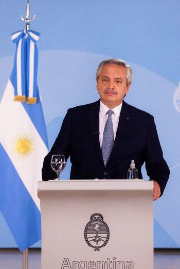 Alberto Fernández disparó contra la oposición argentina
