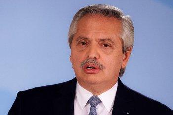 Alberto Fernández se expresó luego de la renuncia de varios ministros