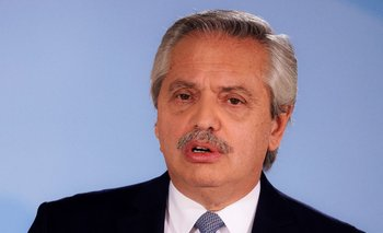 Alberto Fernández, presidente de la República Argentina