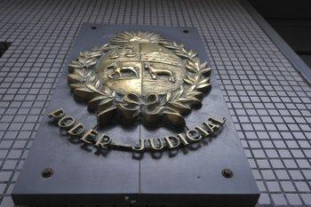 Sede del Poder Judicial, calle Juan Carlos Gómez