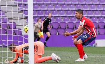 Luis Suárez tuvo su oportunidad y no falló