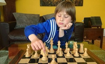 Con solo 10 años, Frederick Waldhausen Gordon es el mejor ajedrecista escocés de menos de 18.