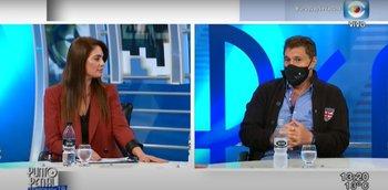 El cruce entre Juan Ramón Carrasco y Ana Inés Martínez