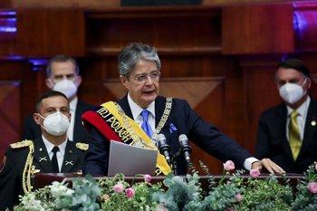 Si el congreso se niega a aprobar las reformas de Lasso, el presidente dice que intentará saltarse la legislatura sometiéndolas a referéndum
