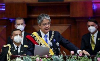 Lasso juró frente a la Asamblea Nacional y quedó investido como presidente de Ecuador este lunes