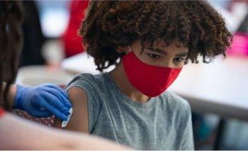 Estados Unidos ya ha comenzado a vacunar a menores de edad