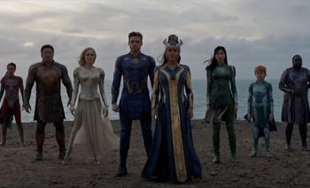 El primer vistazo a los Eternals, los nuevos personajes que Marvel presentará en el cine