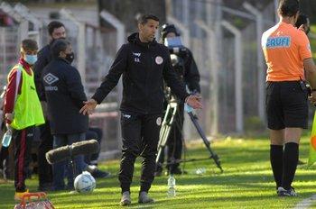 Gustavo Díaz, el equipo tuvo capacidad de reacción
