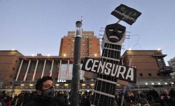 El colectivo de músicos reclamó la apertura de los espectáculos públicos