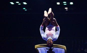El doble salto Yurchenko es uno de los movimientos de mayor dificultad en la gimnasia