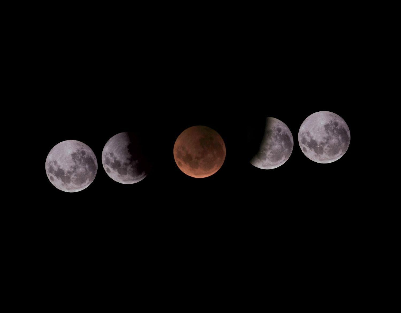 Eclipse lunar, superluna y luna de sangre: la transmisión del triple fenómeno