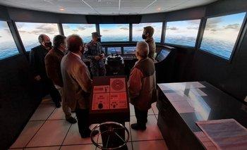 Los trabajos de simulación iniciaron este lunes en la Escuela Naval junto a la Administración Nacional de Puertos.