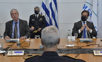 Lacalle Pou reunió a todos los jefes de Policía del país.