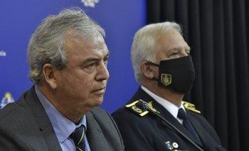 Heber reconoció que pudo haber un exceso en la funcion policial contra los militantes en Rocha