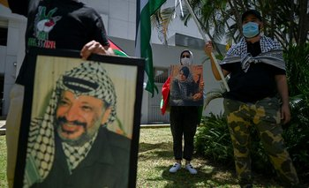 Yasir Arafat, expresidente de la Organización para la Liberación de Palestina