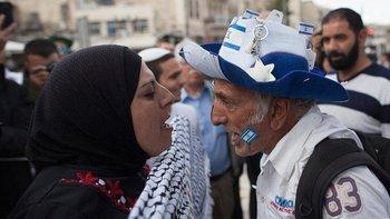 Los disturbios estallaron primero en Jerusalén Oriental
