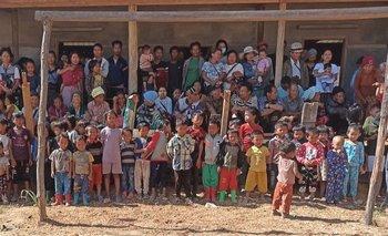 Al menos 50.000 personas viven en Mindat