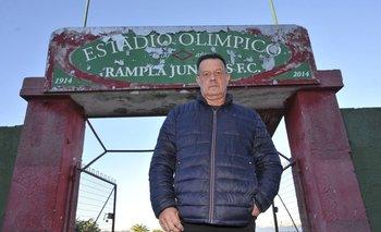 Daniel Bianchi en el Olímpico
