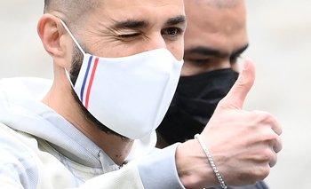 Benzema regresó a la selección de Francia