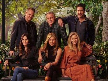 Los actores volvieron a los estudios de Warner 17 años después del último episodio