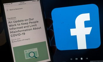 Facebook y una nueva política sobre el manejo de la información acerca del covid-19.