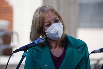 Carolina Cosse comparece de forma virtual este viernes ante un llamado a sala de la Junta Departamental