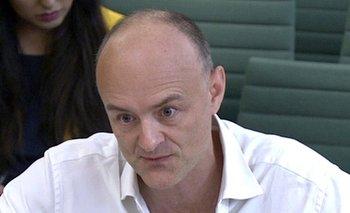 Dominic Cummings compareció ante el Parlamento durante una sesión que se extendió por más de siete horas