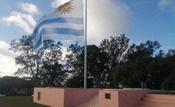 Plantean ponerle el nombre de Jorge Larrañaga a una calle que rodea la Plaza de la Bandera de Florida