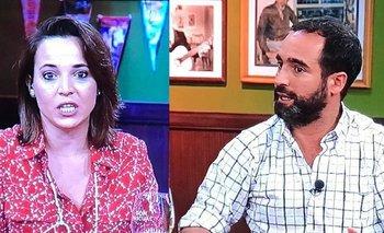 Patricia Madrid y Juan Miguel Carzolio son compañeros de trabajo en Polémica en el bar