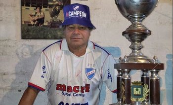 Jesús Noel Alzugaray en la actualidad, ataviado con los colores de Nacional
