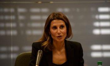 La embajadora de Palestina, Nadya Rasheed.