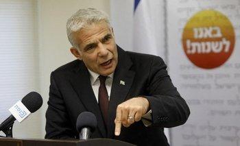 Yair Lapid, líder centrista del partido Yesh Atid
