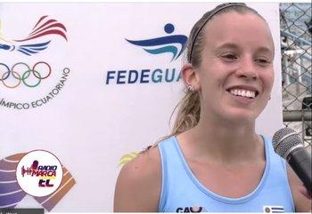 Clarisse Bermúdez no pudo alcanzar su mejor marca en los 10.000 m del Sudamericano de Atletismo de Ecuador
