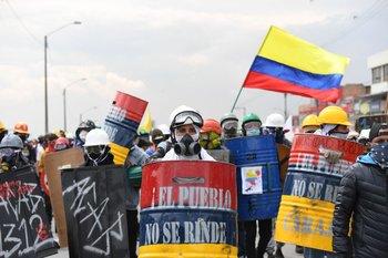 Nueva protesta en Colombia, 28 de mayo de 2021