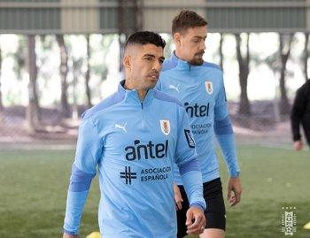 Luis Suárez y Sebastián Coates