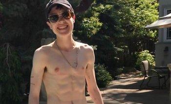 Elliot Page publicó su primera foto después de operarse el torso