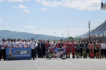 Murió Jason Dupasquier tras su grave accidente en Moto3